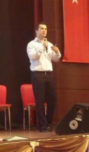 Presenting in İstanbul