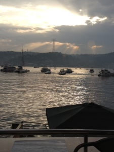 The Bosphorus (Photo taken by Vicky Loras)