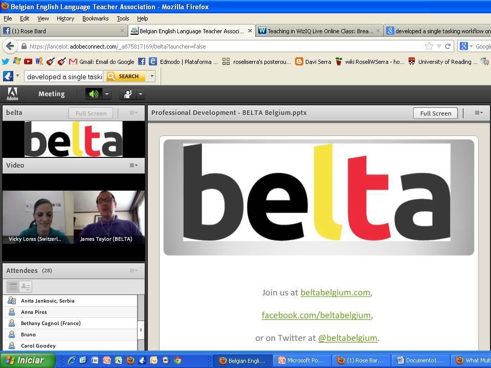 From Zug to Belgium - A BELTA Webinar  (2/2)