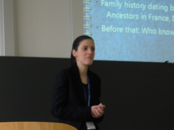 Presenting at the ETAS AGM and Convention, 2011.