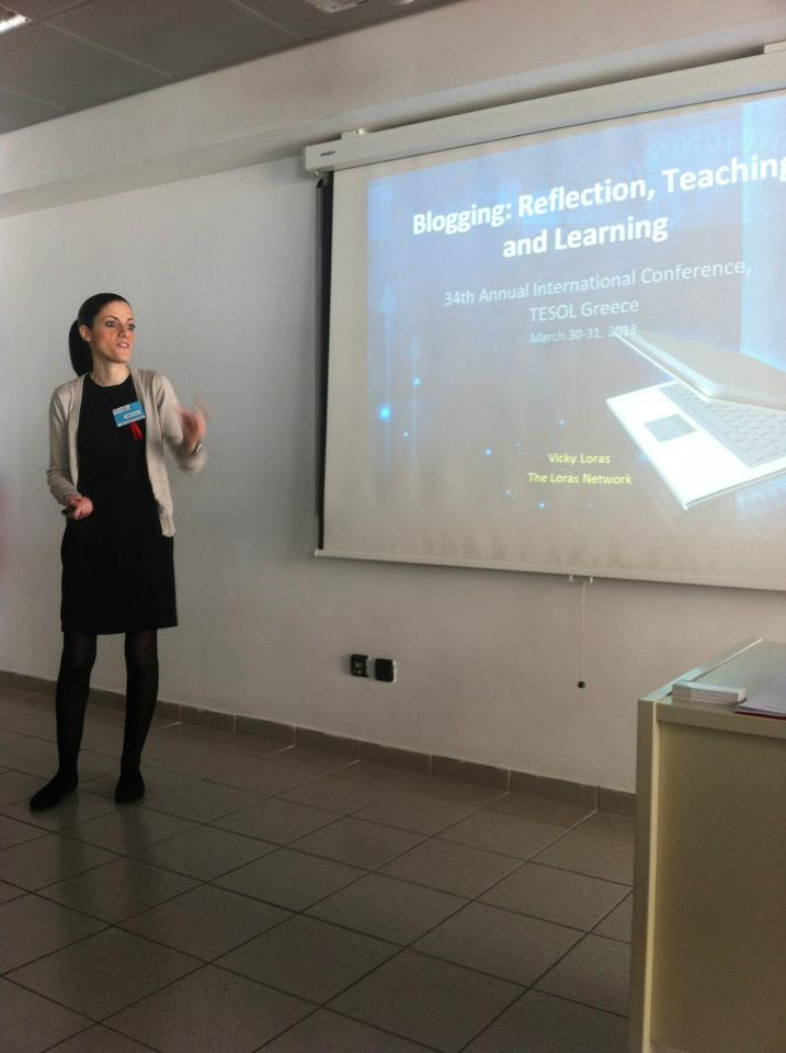 Blogging as Reflection, Teaching and Learning - Presentation for TESOL Greece 2013