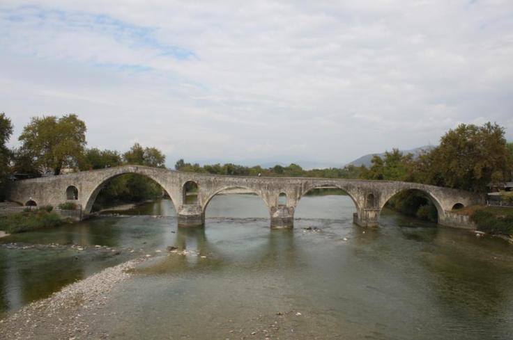 Bridging...the gap (Photo of Arta Bridge, Epirus, Greece by Rakesh Bhanot)