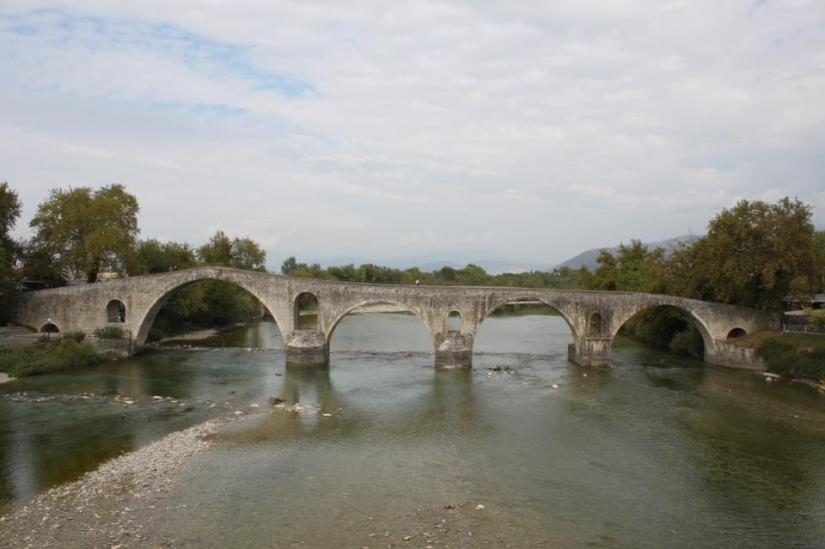 Bridging...the gap (Photo of Arta Bridge, Epirus, Greece by Rakesh Bhanot)
