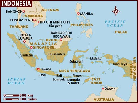 Indonesia, Ika's beautiful country (Image from http://www.lonelyplanet.com)