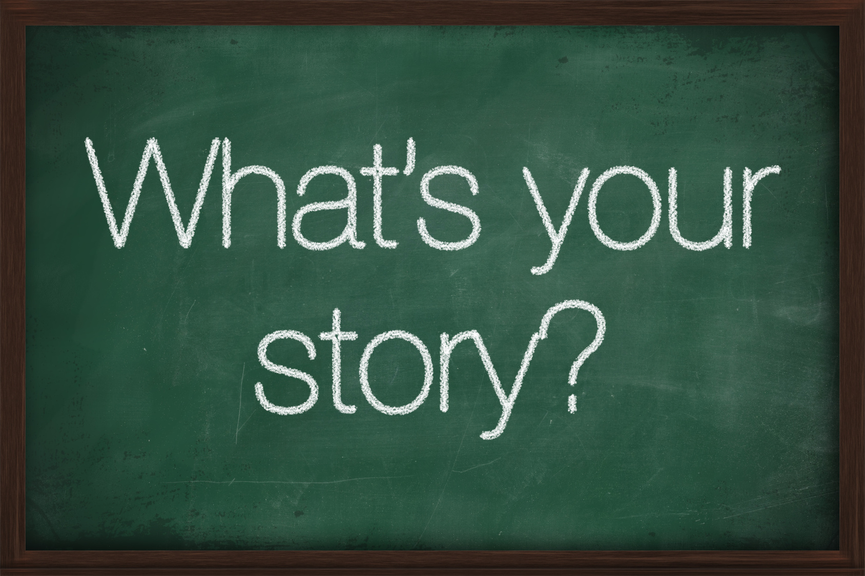 """""""What's Your Story"""" Is Up and Running Again! – A Blog Challenge With a Human Touch"""