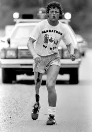 Terry Fox (Image take from Reuters)